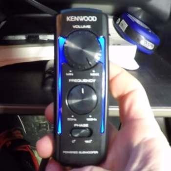 Control remoto del Kenwood KSC-SW11