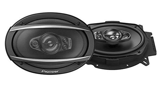 Pioneer TS-A6970F Los mejores altavoces para coche de 6x9 pulgadas